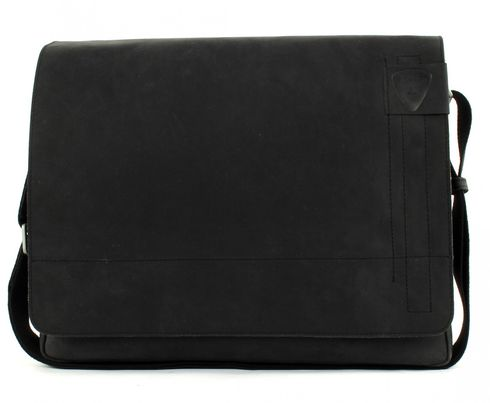 strellson Richmond Messenger LH Black