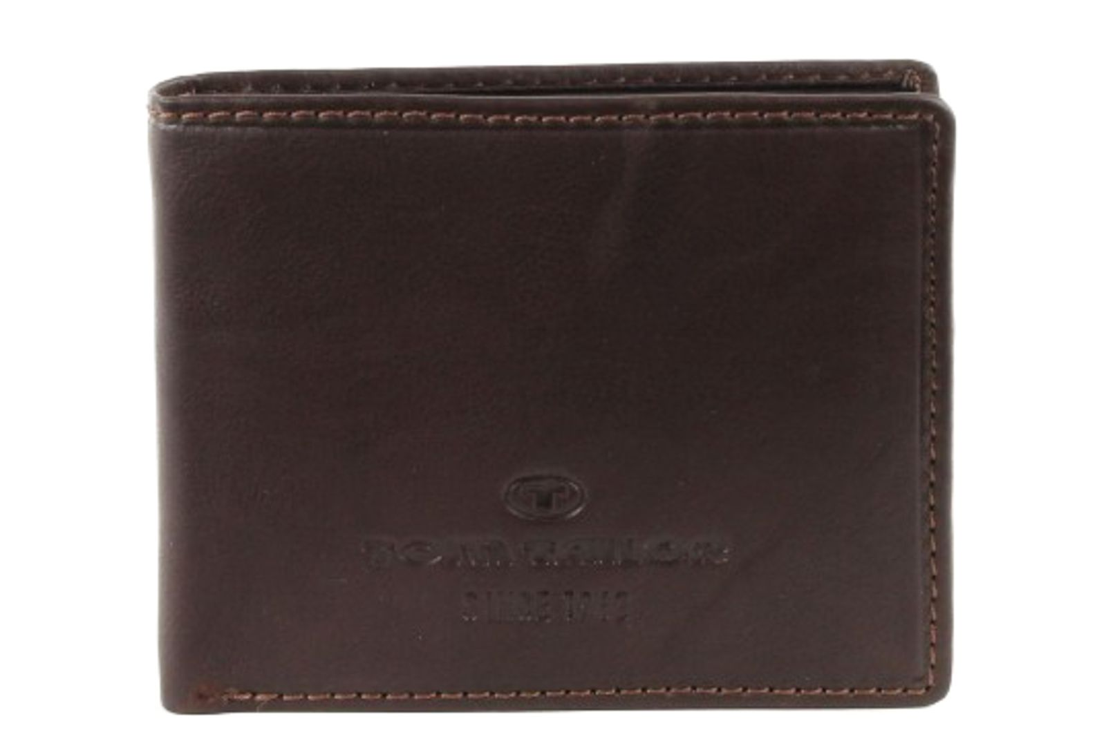 TOM TAILOR Lary Leather Wallet Brown