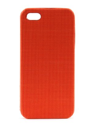 Fossil Phone Case Crosshatch Bright Orange