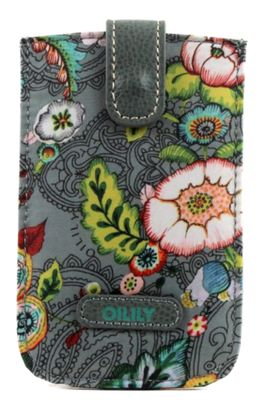 Oilily French Flowers Smartphone Pull Case Grey