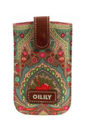 Oilily Winter Ovation Smartphone Pull Case Biscuit