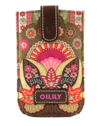 Oilily Winter Ovation Smartphone Pull Case Coffee