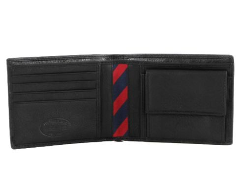 TOMMY HILFIGER Johnson CC and Coin Pocket Black