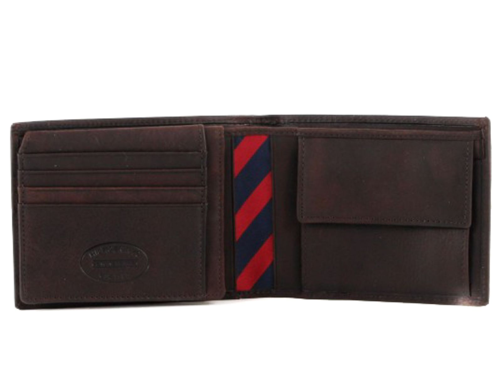 Caballero Triturado cesar  TOMMY HILFIGER Johnson CC Flap and Coin Pocket Brown | Ceres Webshop