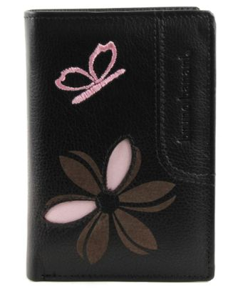 bruno banani Butterfly Wallet Black
