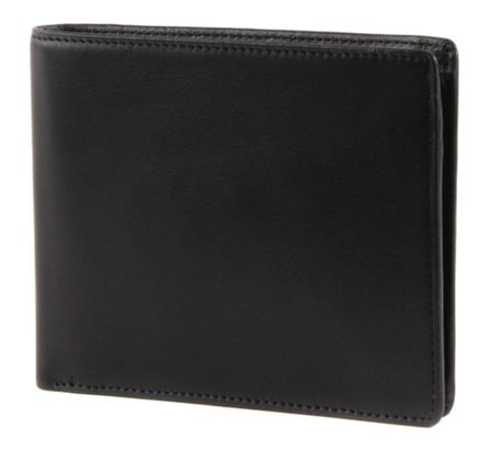 Esquire Logo Left-hander Wallet mit CardSafe Black