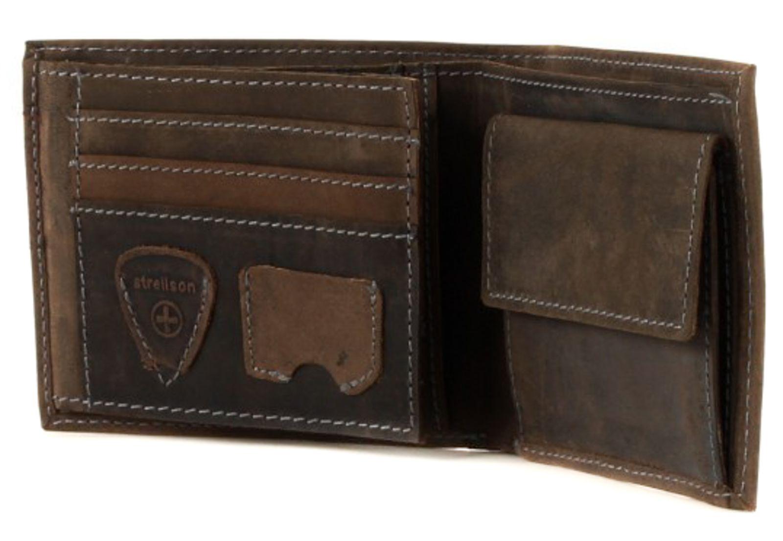 strellson Richmond Billfold H6 Dark Brown