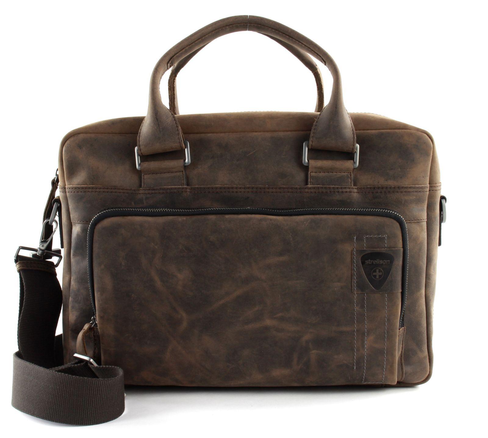 strellson Richmond SoftBriefcase Dark Brown