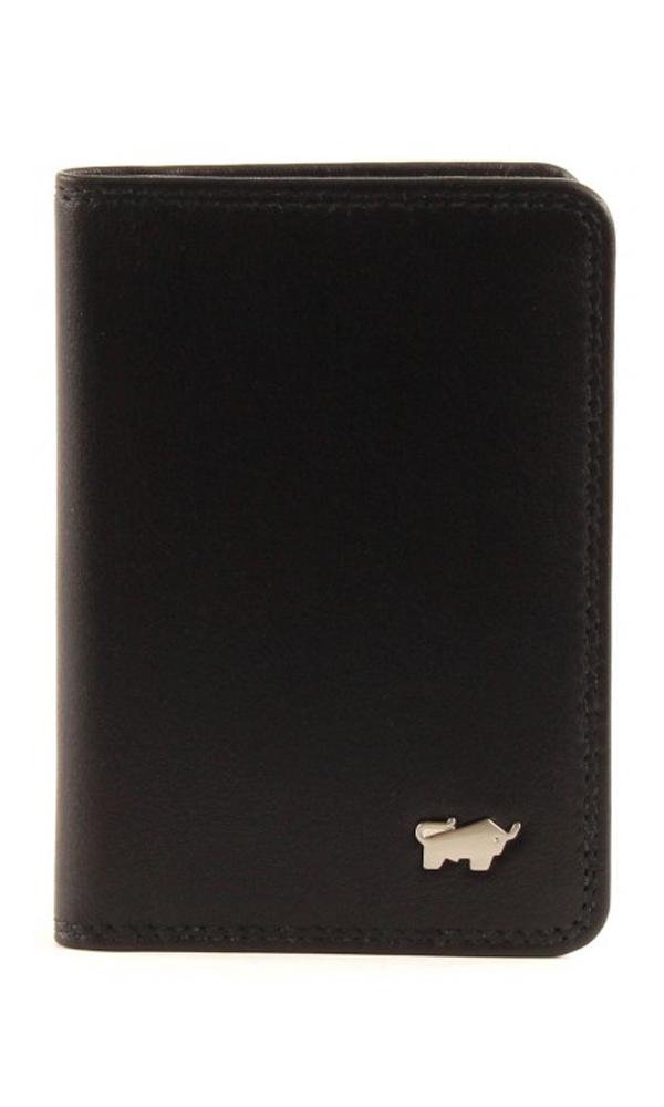 Braun Büffel Golf Kreditkartenetui Black