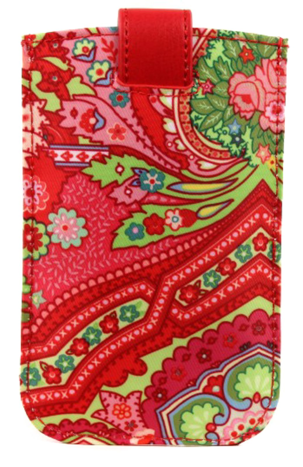 Oilily Spring Ovation Smartphone Pull Case Raspberry