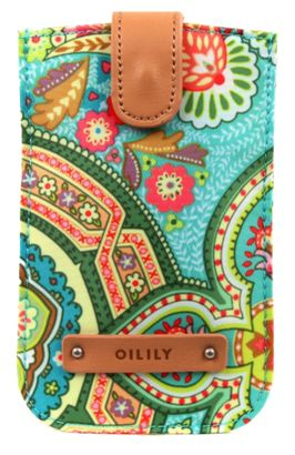 Oilily Spring Ovation Smartphone Pull Case Canal Blue