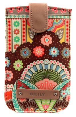Oilily Spring Ovation Smartphone Pull Case Cappuccino