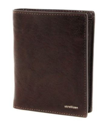 strellson Jefferson BillFold V8 Dark Brown