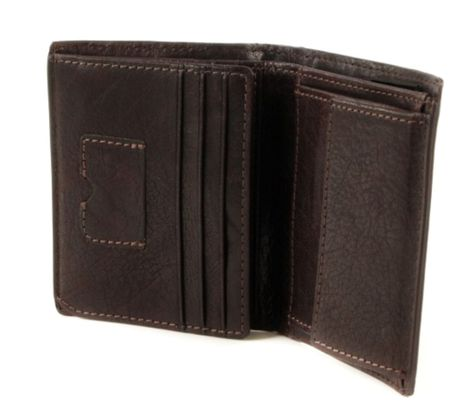 strellson Jefferson BillFold Q6 Dark Brown
