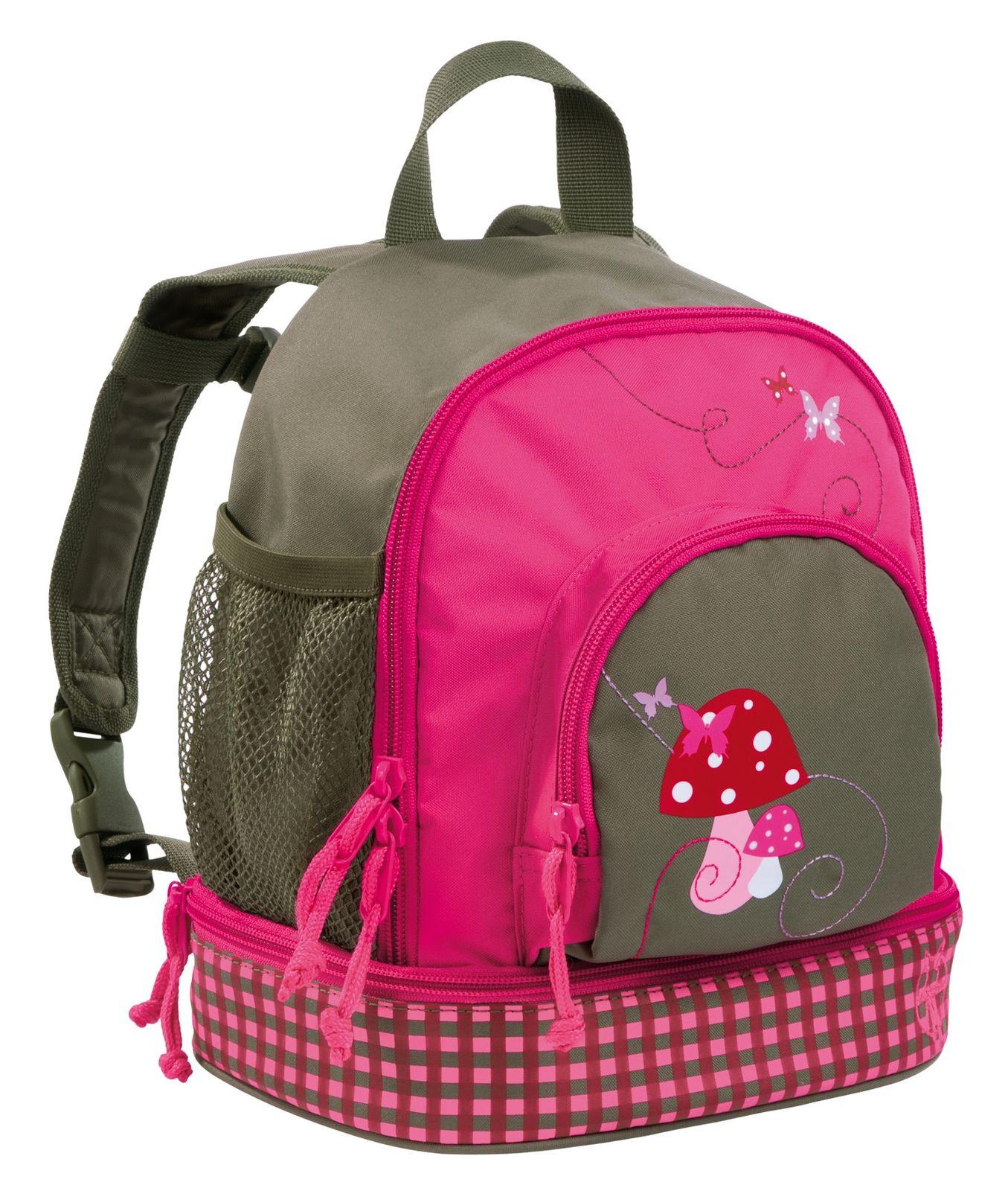 Lässig 4Kids Mini Backpack M Mushroom Magenta