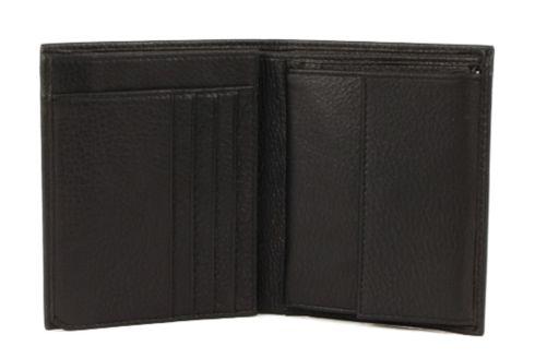 bugatti City Line Upright Wallet Black