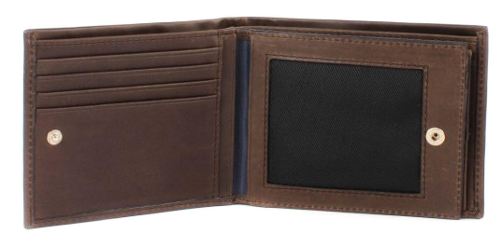 JOOP! Talaos Liana 8 Card Wallet Dark Brown