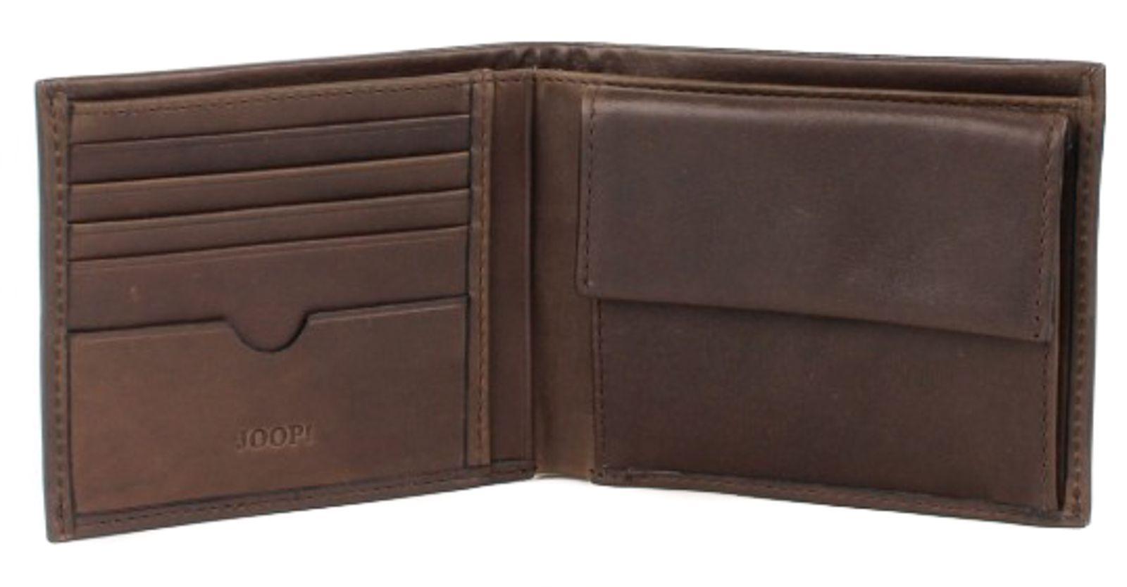 JOOP! Ninos Liana 10 Card Wallet Dark Brown