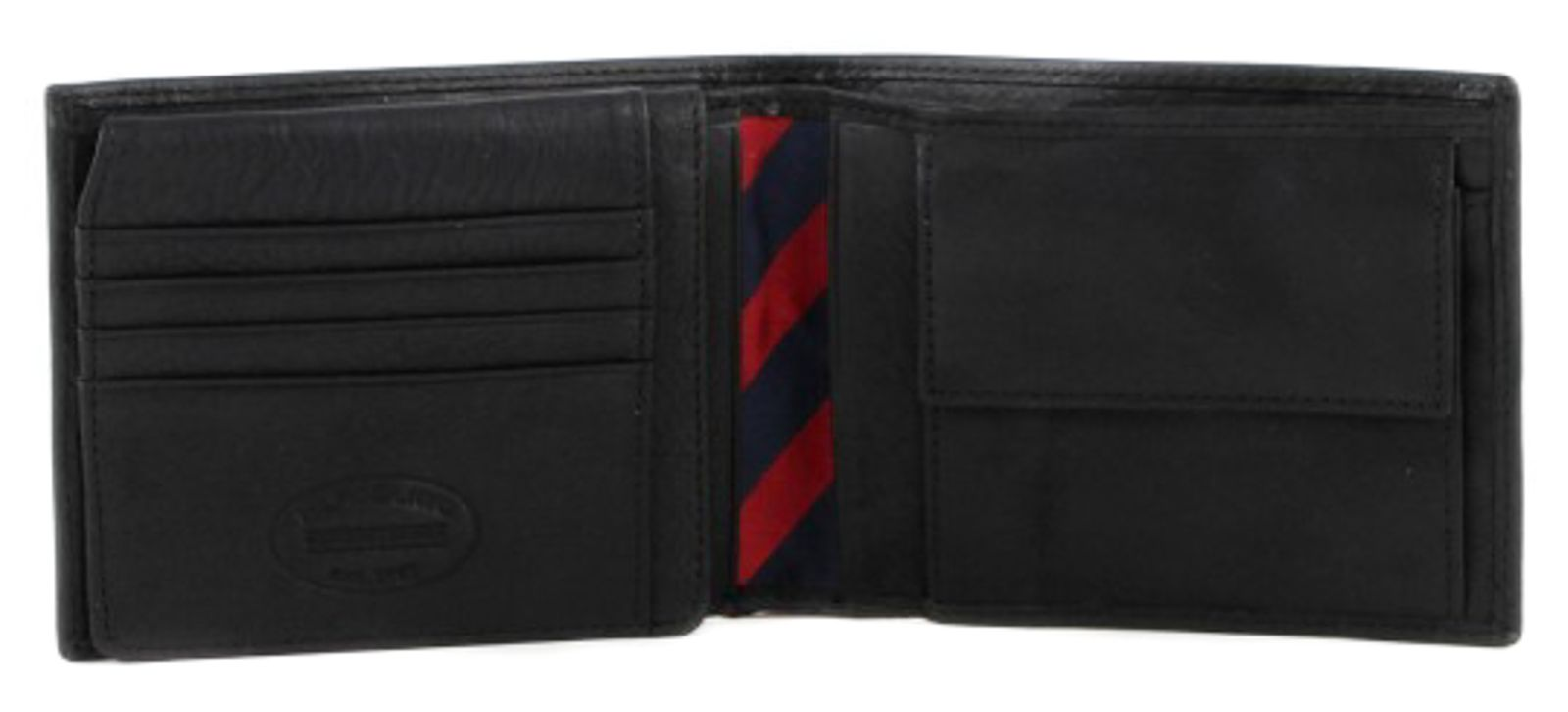 TOMMY HILFIGER Johnson CC Flap and Coin Pocket Black