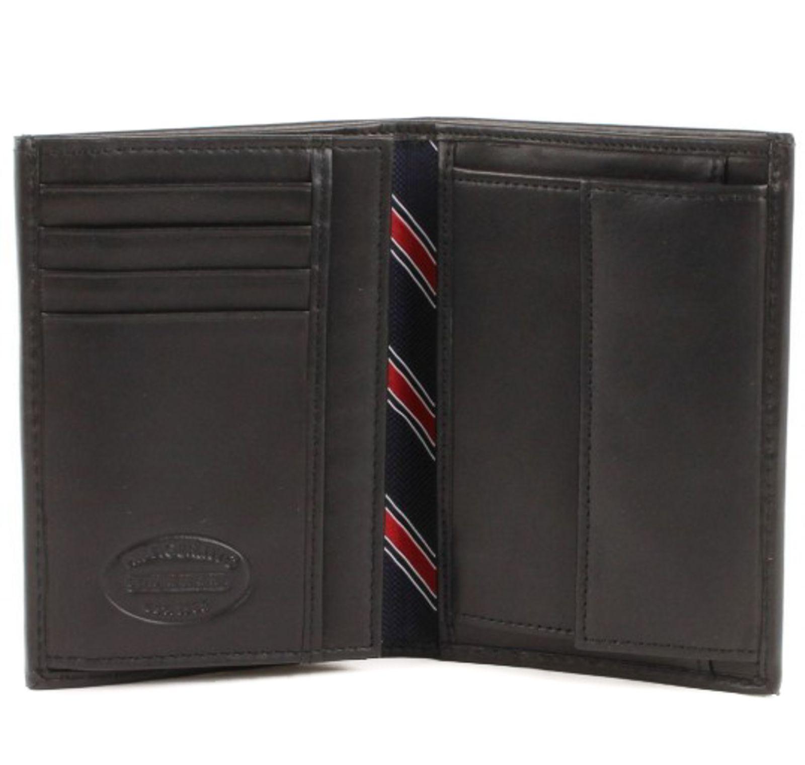 TOMMY HILFIGER Eton Wallet N / S with Coin Pocket Black
