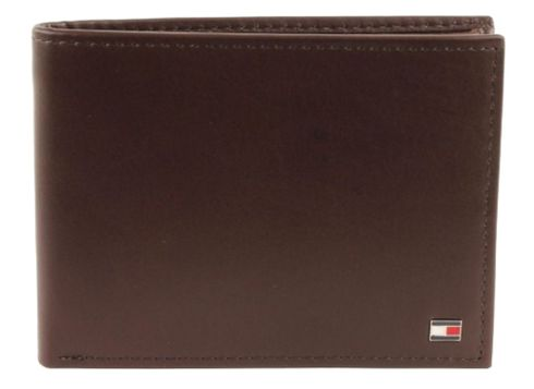 TOMMY HILFIGER Eton CC and Coin Pocket Brown