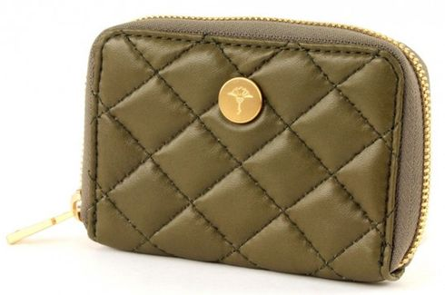 JOOP! Stilbe Silky Sheep Zip Wallet Mini Green