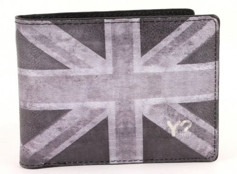 Y NOT? Wallet Man UK Black and White