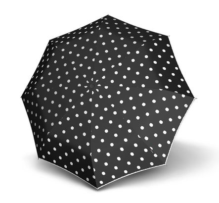 Knirps Piccolo Dot Art Black