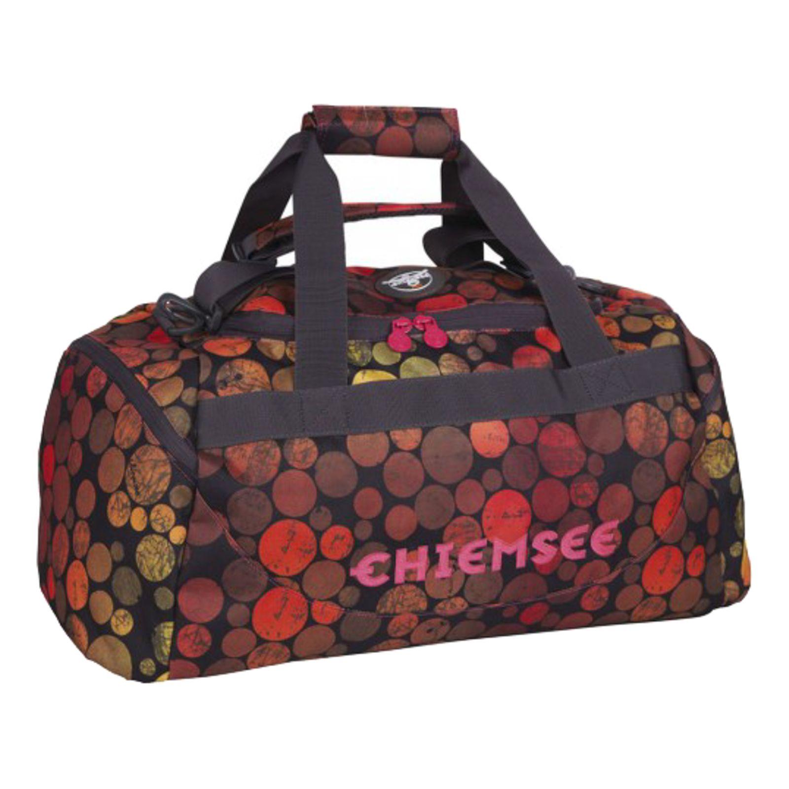 CHIEMSEE Sport Matchbag Medium Dots Black