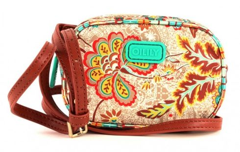 Oilily Summer Blossom Phone / Camera Holder Caramel