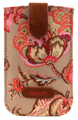 Oilily Summer Flowers Smartphone Pull Case Sand