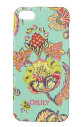 Oilily Summer Flowers iPhone 5 Case Aqua