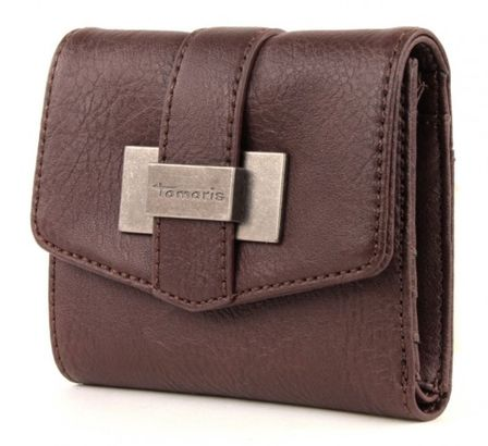 Tamaris BECKY Small Wallet with Flap Mocca
