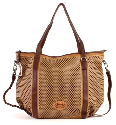 LA MARTINA Mora Large Shopping Bag Tan