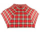 Knirps Smart & Casual Line Flat Duomatic Red Check online kaufen bei modeherz