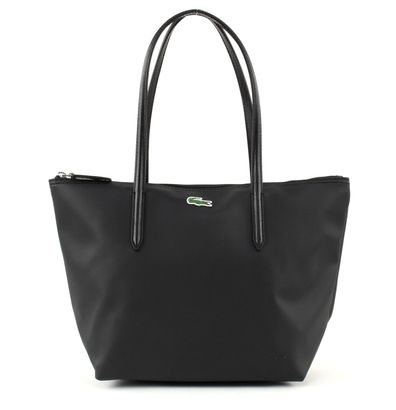 LACOSTE L.12.12 Concept S Shopping Bag Black