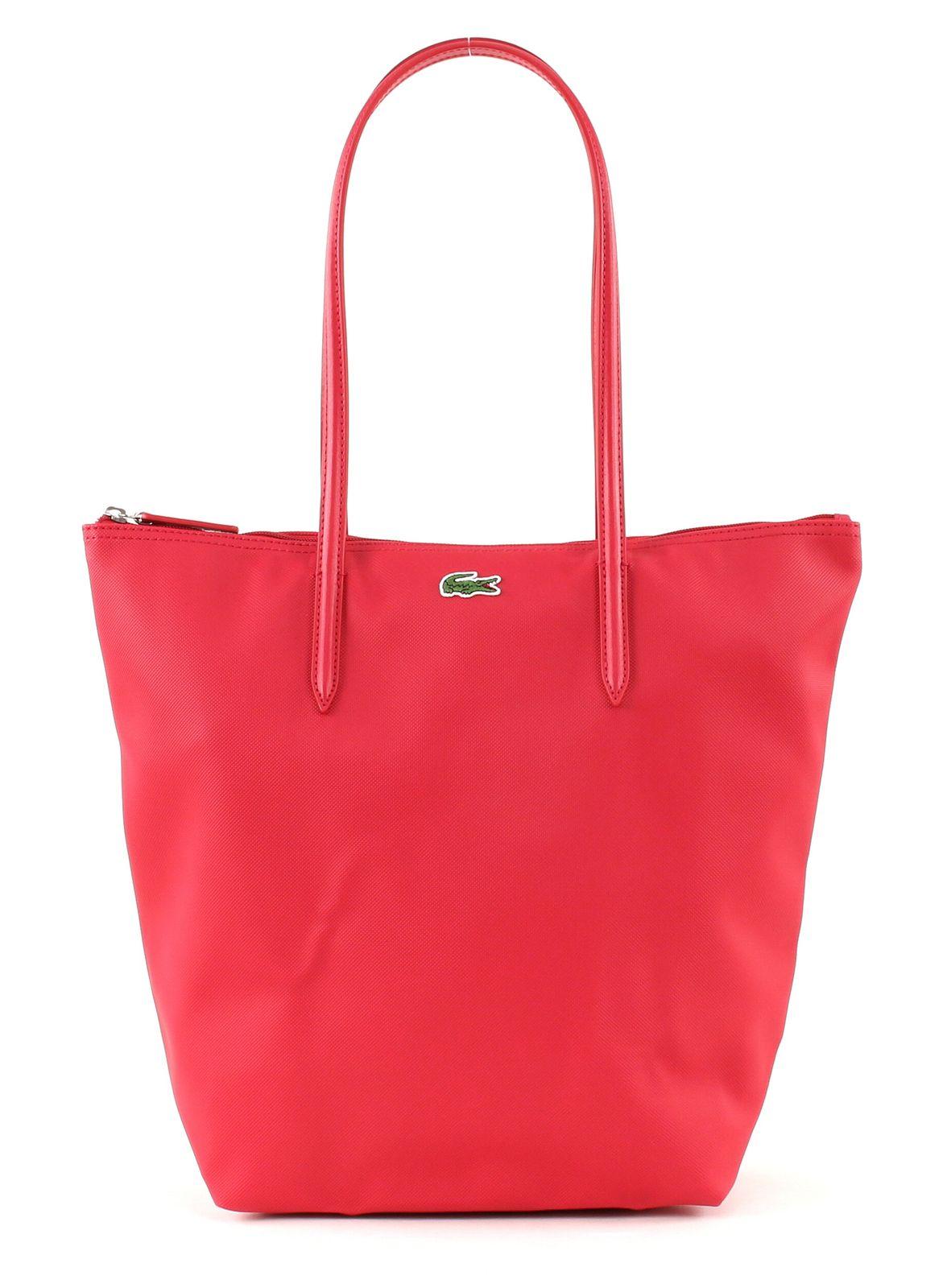 LACOSTE L.12.12 Concept Vertical Shopping Bag Virtual Pink