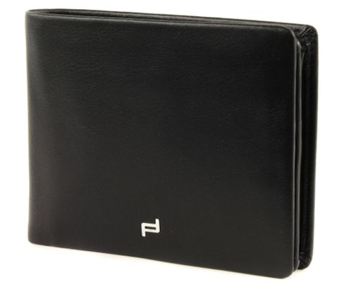 PORSCHE DESIGN Touch BillFold H10 Black