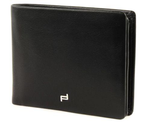 PORSCHE DESIGN Touch BillFold H10 Black