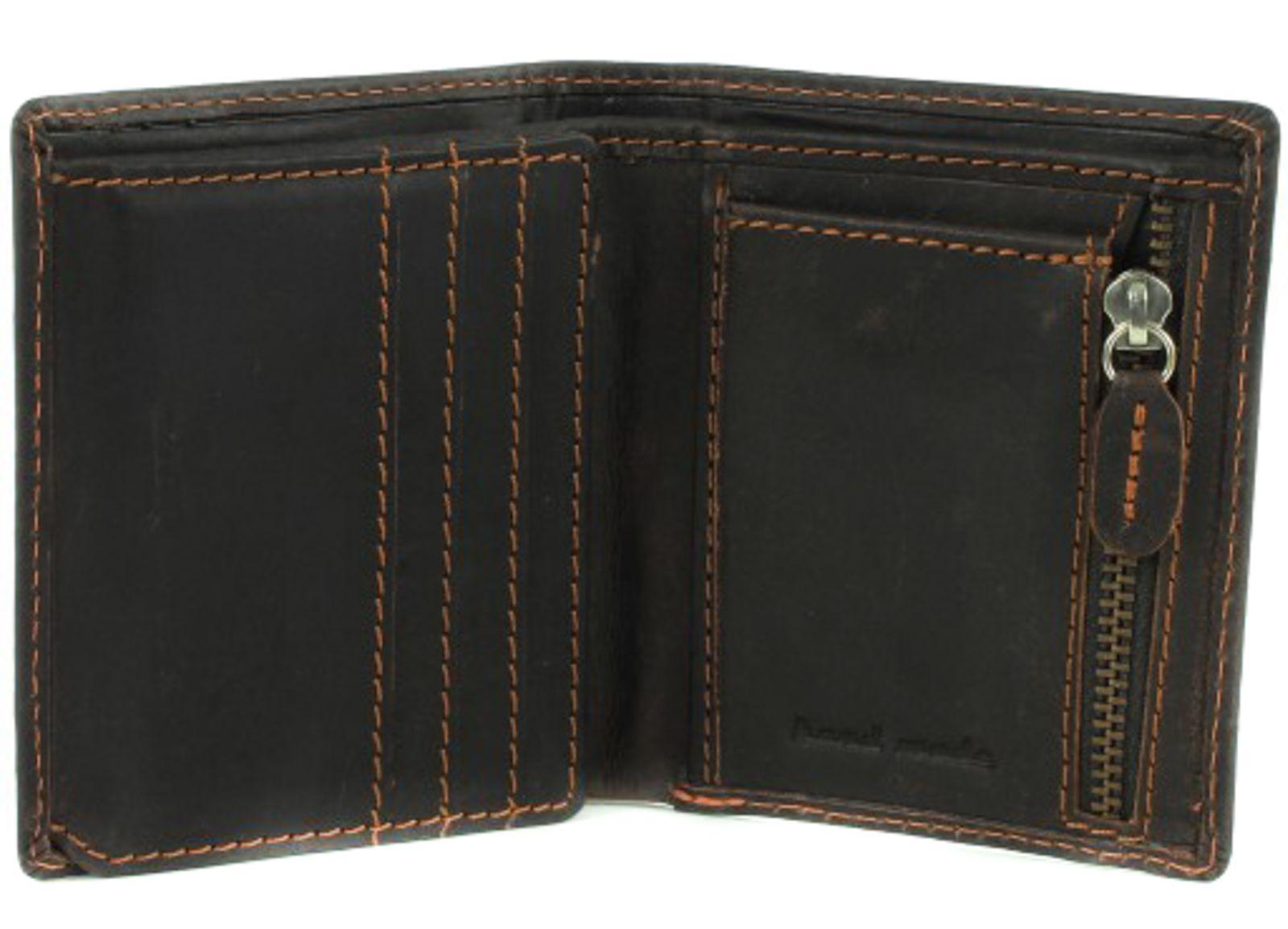 GreenLand Westcoast Medium Zip Wallet Buffalo-Brown