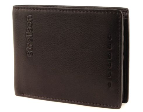 strellson Oxford Circus Billfold H7 Dark Brown