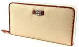 LA MARTINA Ciliegia Long Size Wallet With Zipper Beige online kaufen bei modeherz