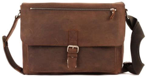LEONHARD HEYDEN Salisbury Shoulder Bag L Brown