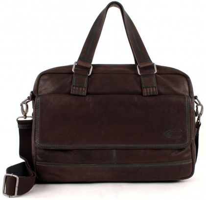 Camel Active Desert Messenger Bag Dark Brown