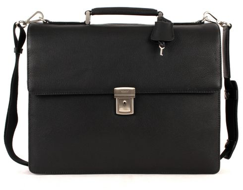 LEONHARD HEYDEN Berlin BriefCase 2 Black