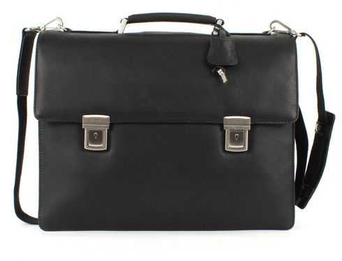 LEONHARD HEYDEN Berlin BriefCase 3 Black