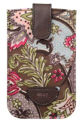 Oilily French Paisley Smartphone Pull Case Moss