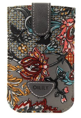 Oilily French Paisley Smartphone Pull Case Iron