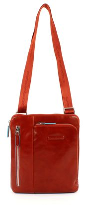 PIQUADRO Blue Square Shoulder Pocketbag Arancio