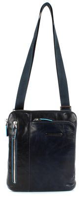 PIQUADRO Blue Square Shoulder Pocketbag Blu Notte